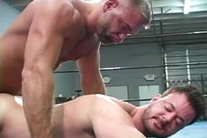 After Wrestling Two hot Hunks decided to fuck